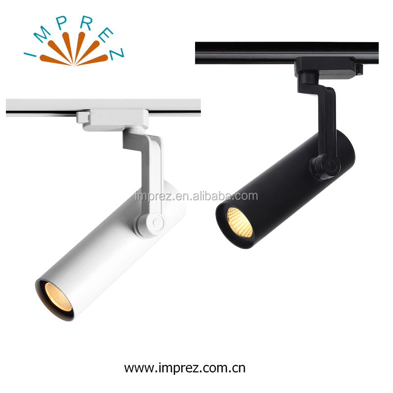 New design COB 30W 5000K 2wire/3wire/4wires dimmable led track light