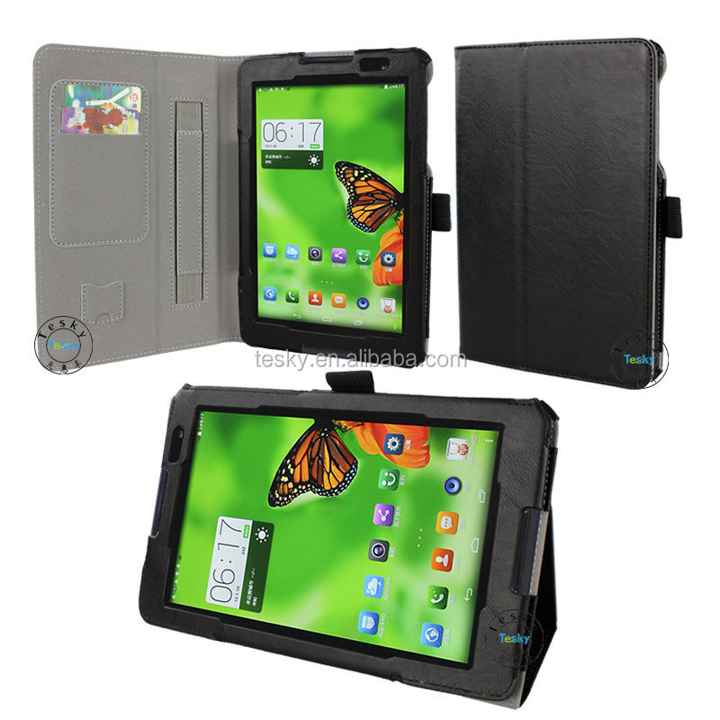 smart android tablet shell leather cover case for lenovo a8-50 a5500