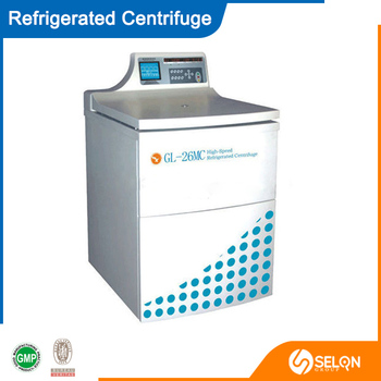 SELON DL5MC LARGE CAPACITY REFRIGERATED CENTRIFUGE