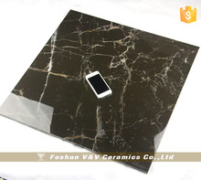 Fliesen,800x800mm Super Glossy Marble Black Tile Glaze
