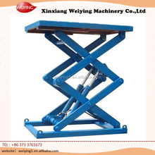 Stationary scissor hydraulic cargo platform lift/scissor lift/goods lift