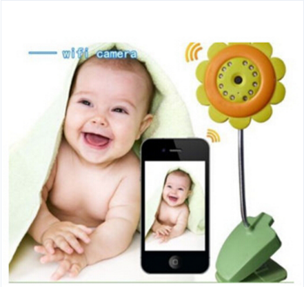 Factory price Wireless Baby Monitor for Ipad Android Smart Phone Sunflower Wifi Bluetooth