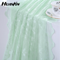 ikea style warp knitting lace curtain for home decoration