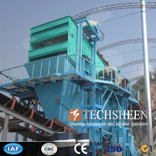 0-5mm sand making plant sand vibrating screen machine