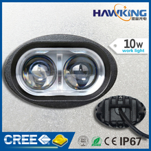 10W bright spot purple LED work light for truck
