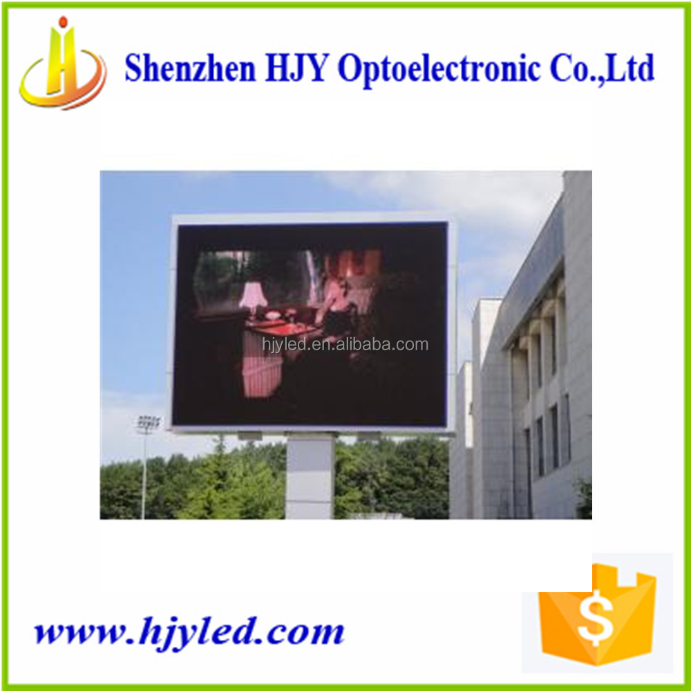 Waterproof HD Full Color Led Display Billboard P10 Outdoor Stage Background Led Digital Display Screen