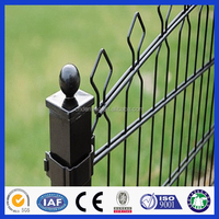 low price powder coated cheap metal sheet metal fence panels