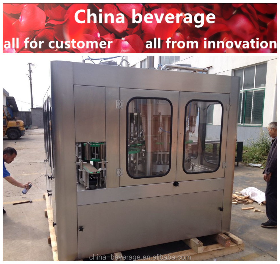 Hot sale complete automation beer canning machine preferred equipments