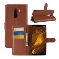 Lichee Pattern Card Slots Flip Cover Wallet Leather Case For Xiaomi F1