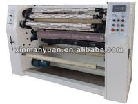 Four shaft automatic bopp tape slitting machine/adhesive tape plant/scotch tape slitting machine