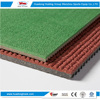 Eco-friendly school prefabricated run way rubber athletic track
