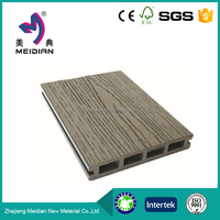 Strong vinyl floor tile standard size wood plastic decking
