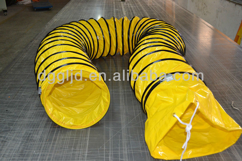 hvac industrial ventilation fabric air duct