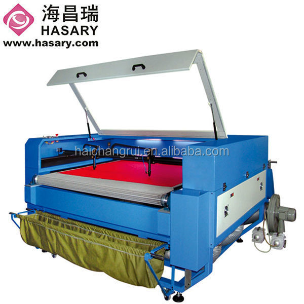Convinently professional home fabric laser cutting machine / small scale laser cutter