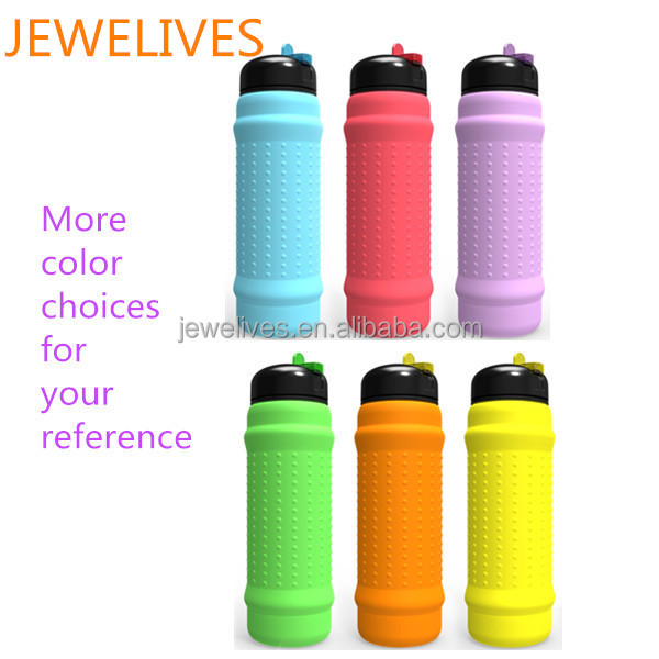 New inventions idea silicone sports water bottle