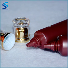 Best quality 75ML medicine industrial food Cosmetic Type cosmetic HEPE LDPE LLDPE laminated tube with acrylic lid