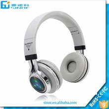 2017 New Products Foldable Sports Bluetooth earphone, Stereo Bluetooth headset with Mic