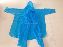disposable raincoat and pants with virgin clear plastic