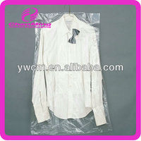 Yiwu custom plastic clear ldpe dry cleaning bag