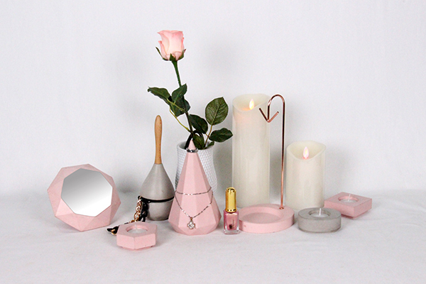 Various styles homewares decor real marble candle holder for Homewares decorative items