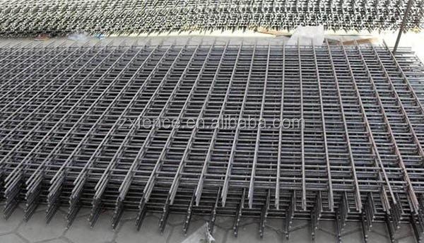 Wholesale new product 200*200/100*200mm cold-roll ribbed reinforcing mesh