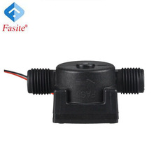 3~200L/Min Hall Magnetic plastic water flow sensor