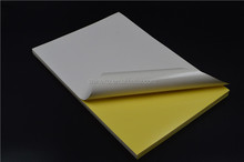 80gsm mirror paper in sheets with white kaft paper
