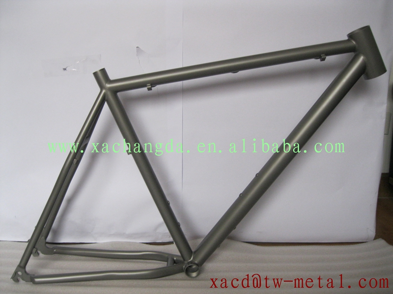 titanium mtb bike frame factory direct supply titanium bike frame custom titanium mtb bike frame