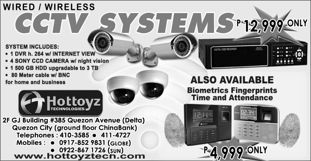 CCTV System 4Ch H264 with Networkview DVR 500GB 4Sony camera