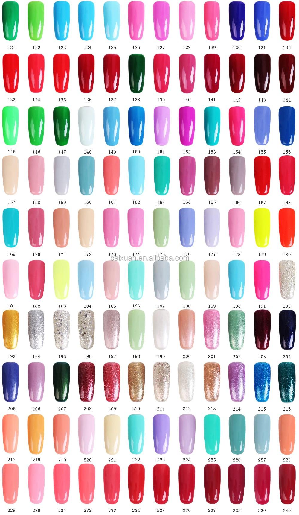 Private Label Color Uv Gel Polish 15 Ml Soak Off Nail Oem