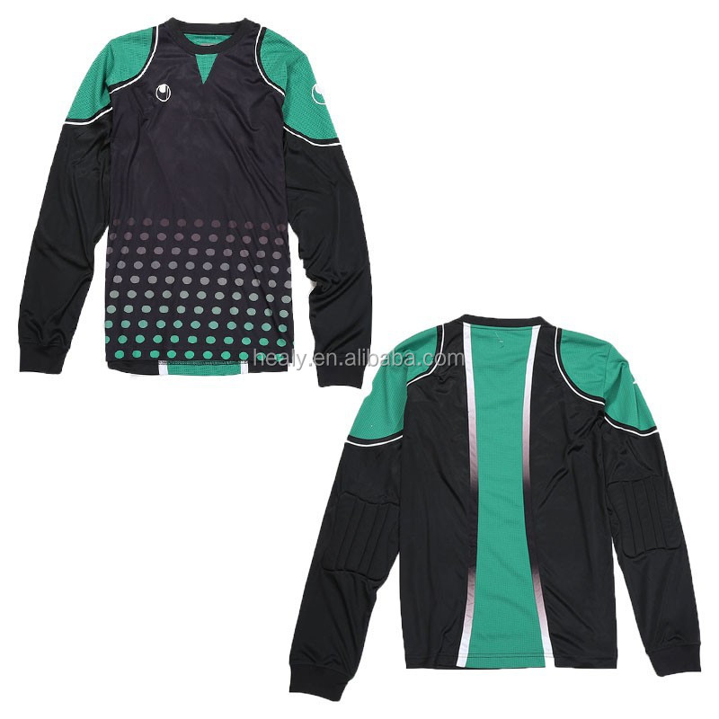 Long Sleeves Goalie Pads Wear Shirt
