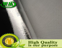 aluminum metallized film coated woven woven fabric for packing machine
