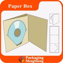 color packaging box for CD/VCD/DVD