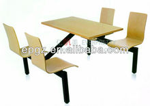 Dinning table and chair used school furniture,Dinning table for student
