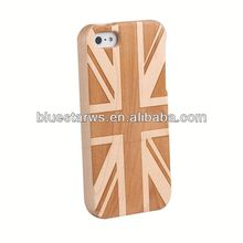 Hot! High Quality Case Wood For Iphone 5 ,Original For Iphone5 Wood Cover real wood case for iphone5