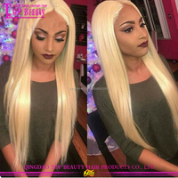 Large Stock Full Lace Wig Bleached