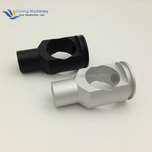 OEM ISO hardwear products aluminum cosmetic case anodized cnc aluminium turning parts