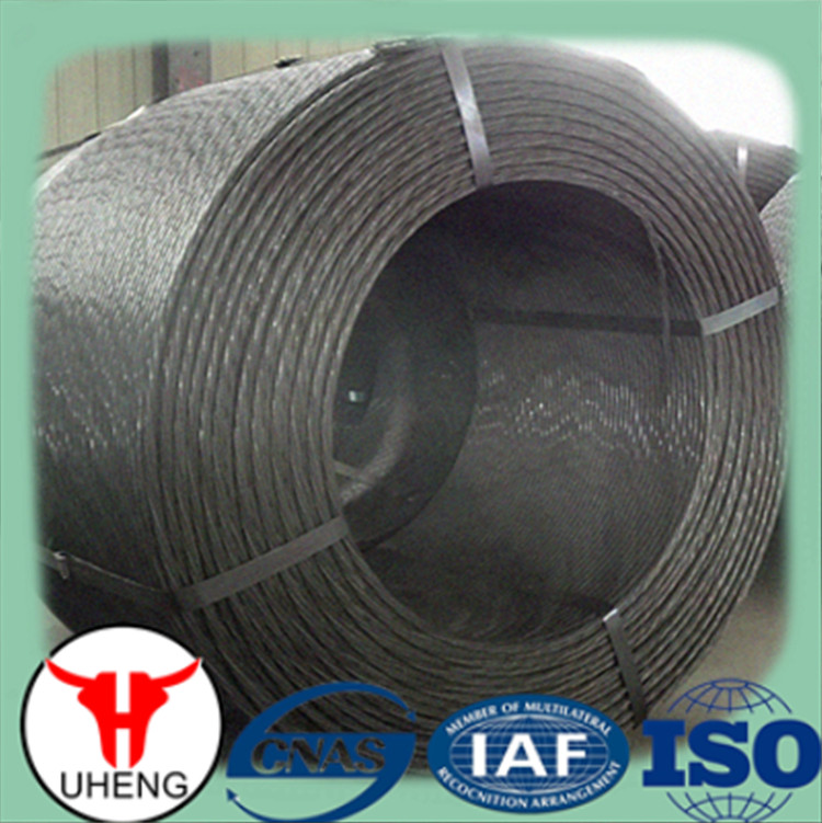 ASTM A416 12.7mm prestressed concrete steel strand, metal building material