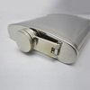 7oz 304 groove hip flask