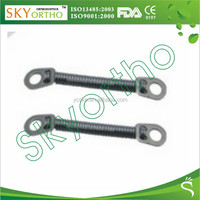 Host sell dental orthodontic niti closed coil springs with two eyelets from skyortho supplies
