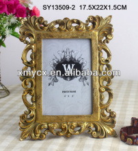 Golden 4R photo frames for home decoration