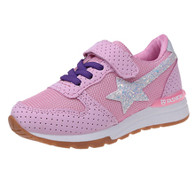 Children's sports shoes 2017 autumn girls casual running shoes