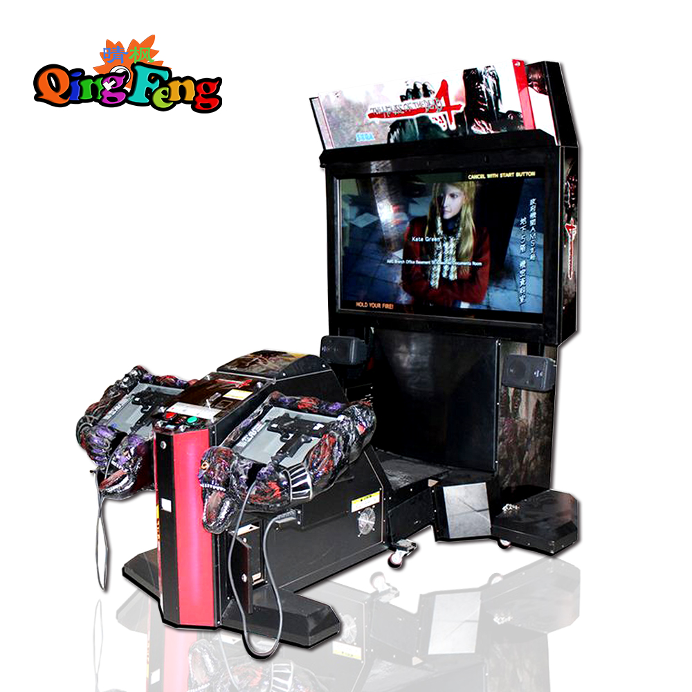 "55""LCD Namibia play shooting games -House of the dead 4(MS-QF130)"