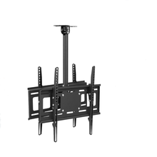 actory heavy duty with extension filp down retractable 26 to 55 inch lcd led ceiling tv mount