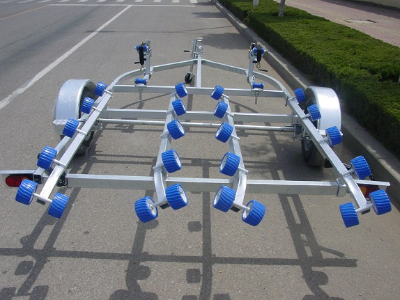 high good quality hot dipped galvanised Boat Trailer