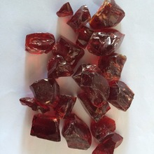 China red garden crushed glass
