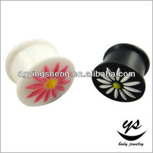 Sunflower silicone ear expansion bangkok body jewelry