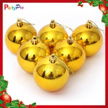 Wholesale Various Sizes Christmas Decoration Ceiling Hanging Shatterproof Christmas Ball