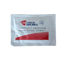 Individual Pack Wet Wipe for Airline