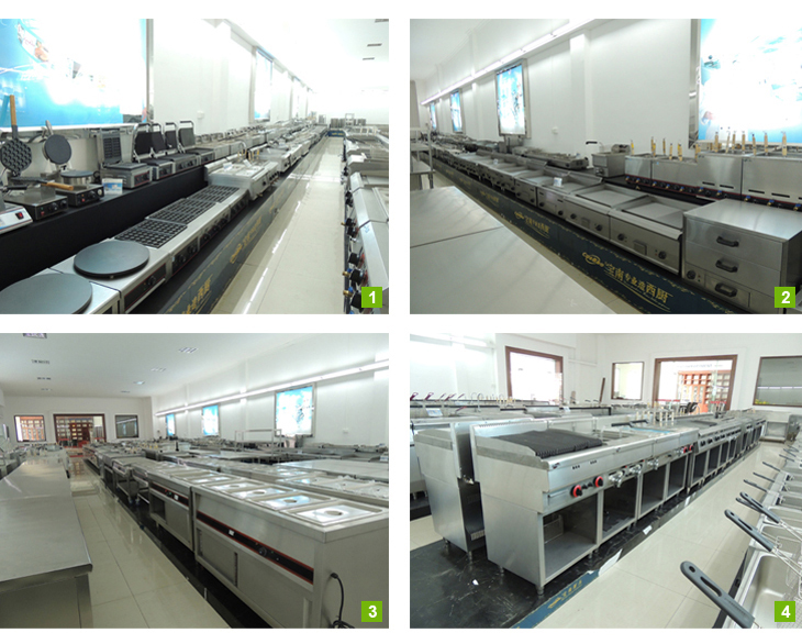 Catering equipment/Multifunctional commerical kitchen equipment gas range 4 burners with oven